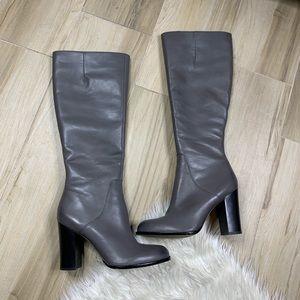 Sam Edelman Regina Heeled Gray Boots Size 10